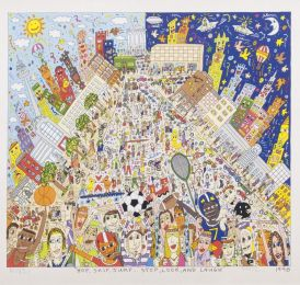 "James Rizzi, ""Love Is in the Air"", 1989"